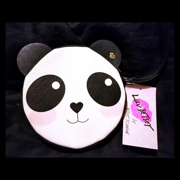 Betsey Johnson Handbags - Betsey Johnson Luv Panda Wristlet NWT